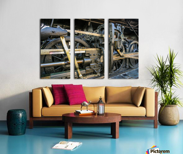 Strasburg 16 Split Canvas print