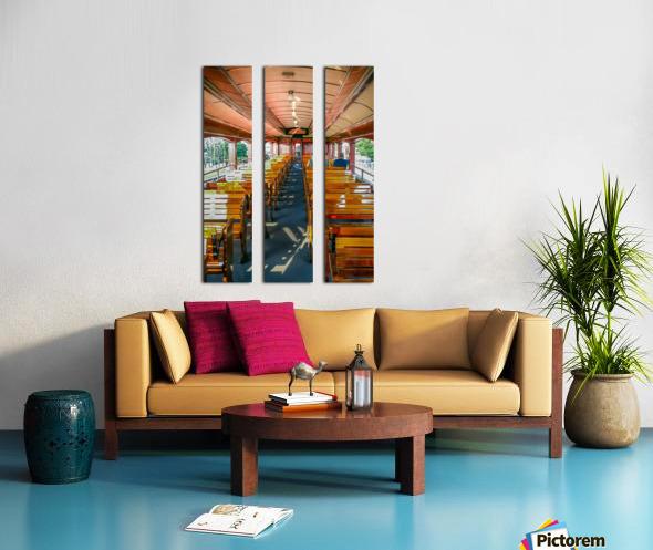 The Cheap Seats. Split Canvas print