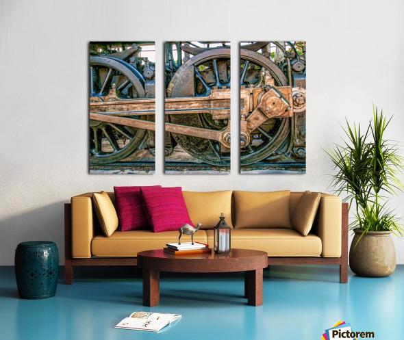 Strasburg 17 Split Canvas print