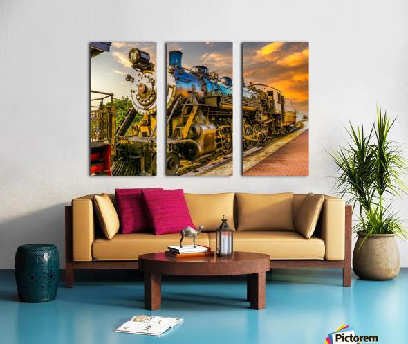 Strasburg 24 Split Canvas print