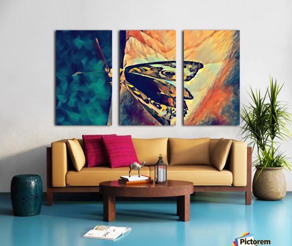 butterfly art Split Canvas print