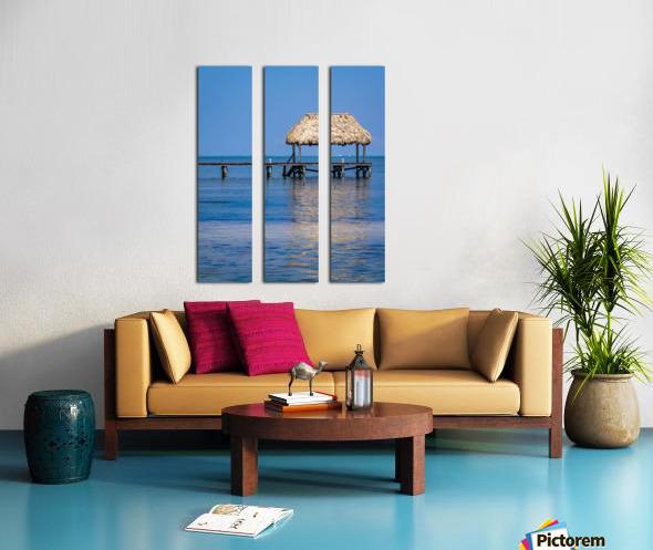Ambergris Caye 2 Split Canvas print