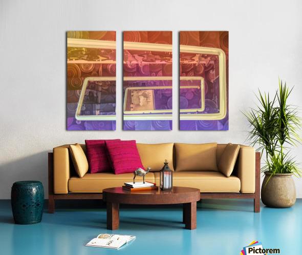 hotel stairway nice studio 6 Split Canvas print