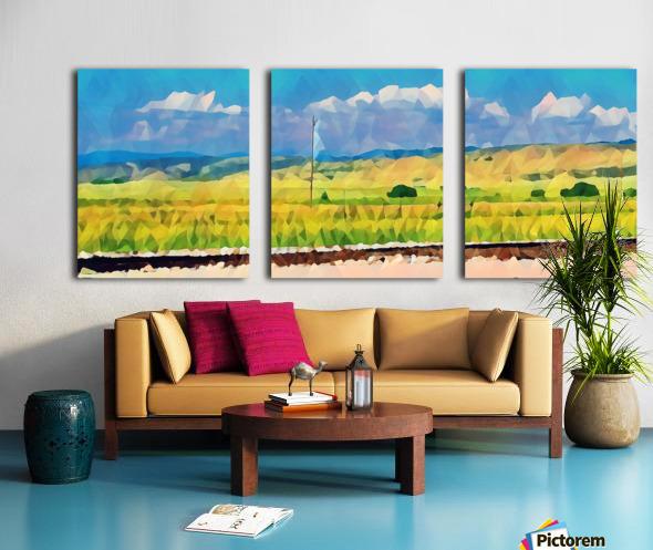 colorado skies Split Canvas print