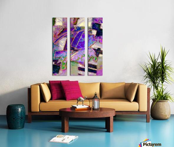 Full of wonder Split Canvas print