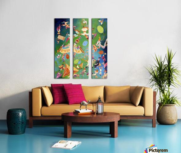 1992 043 Split Canvas print