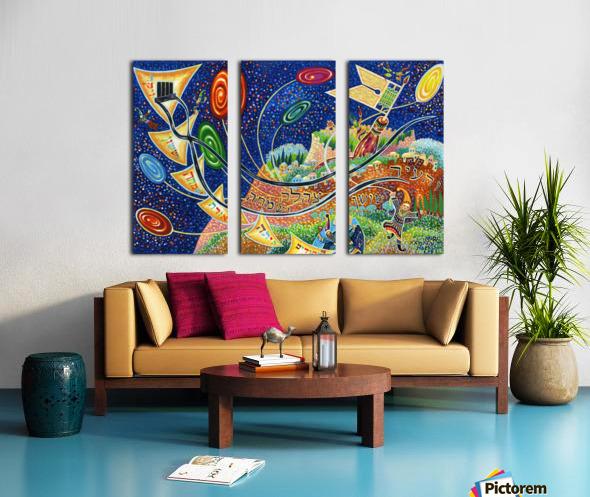 1991 011 Split Canvas print