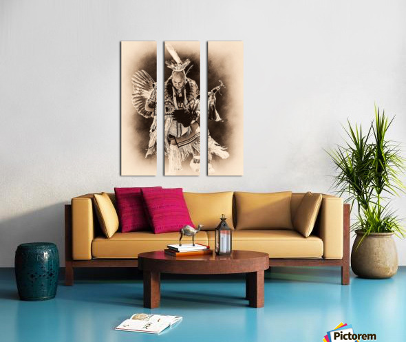 Native American 14 Split Canvas print