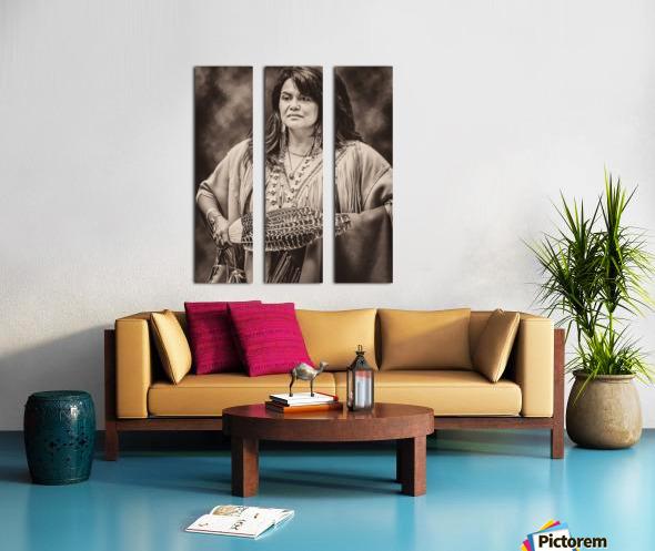 Native American 5 Split Canvas print