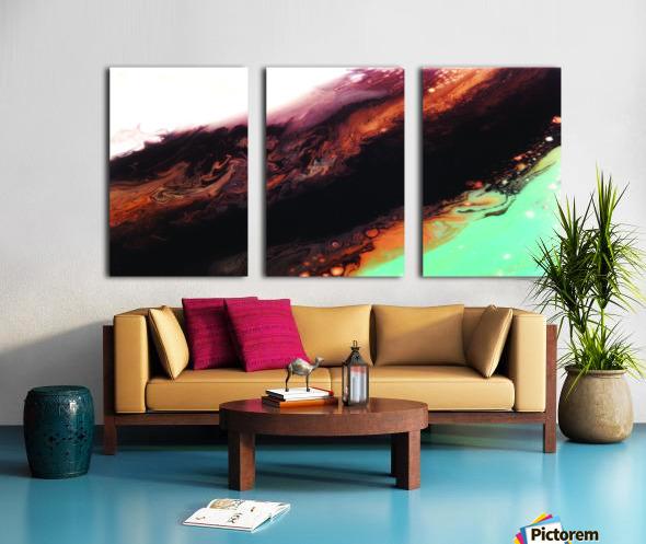 Geode II Split Canvas print