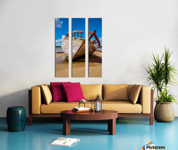 Donegal 2 Split Canvas print