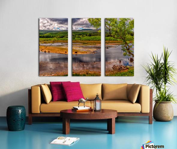Donegal 22 Split Canvas print