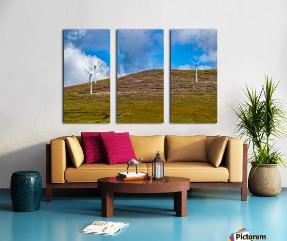 Donegal 31 Split Canvas print