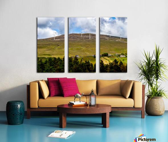 Donegal 32 Split Canvas print