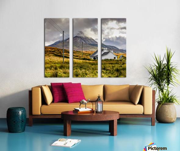 Donegal 17 Split Canvas print