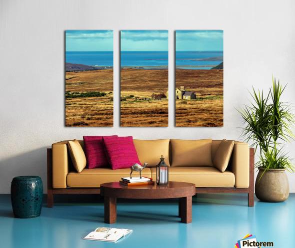 Donegal 12 Split Canvas print