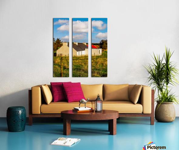 Donegal 5 Split Canvas print