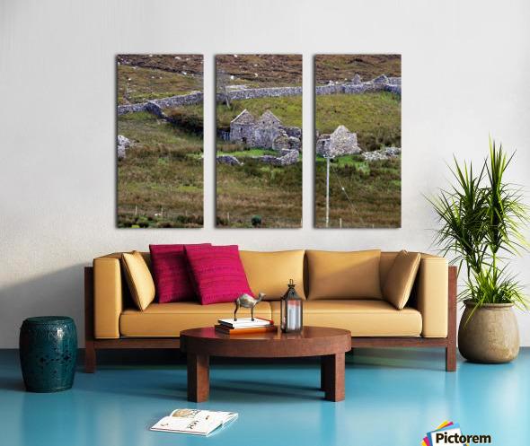Donegal 9 Split Canvas print