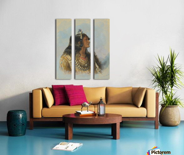 Mawoma Split Canvas print