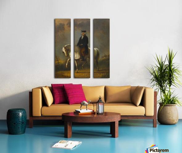 George Washington at Mount Vernon Split Canvas print