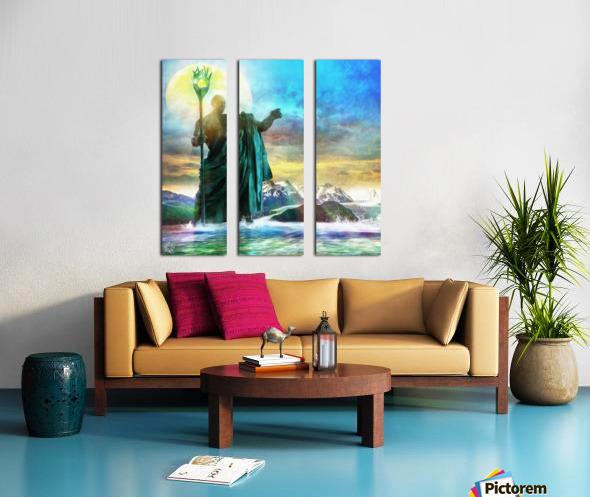 The Benevolent Light Split Canvas print