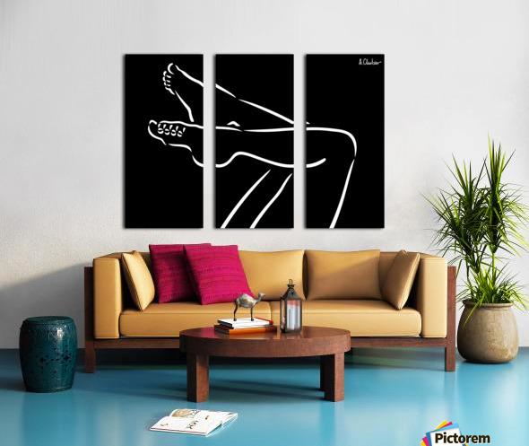 Legs 2 Split Canvas print