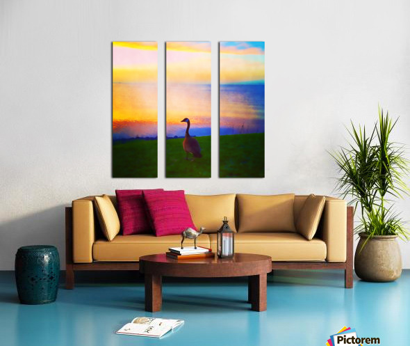 looking out Split Canvas print