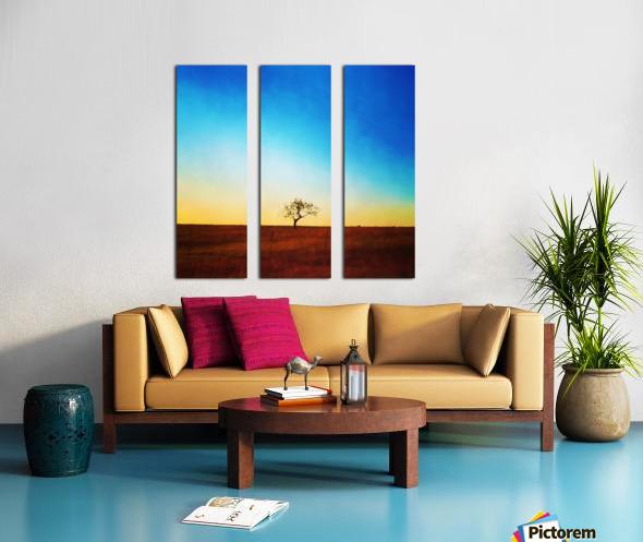solitude tree Split Canvas print