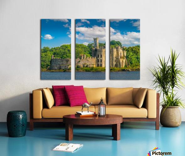 McDermott s Castle Ruins Split Canvas print