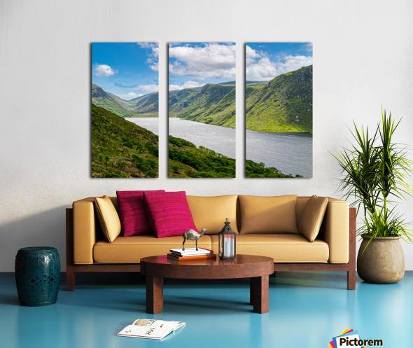 Lough Veagh Split Canvas print