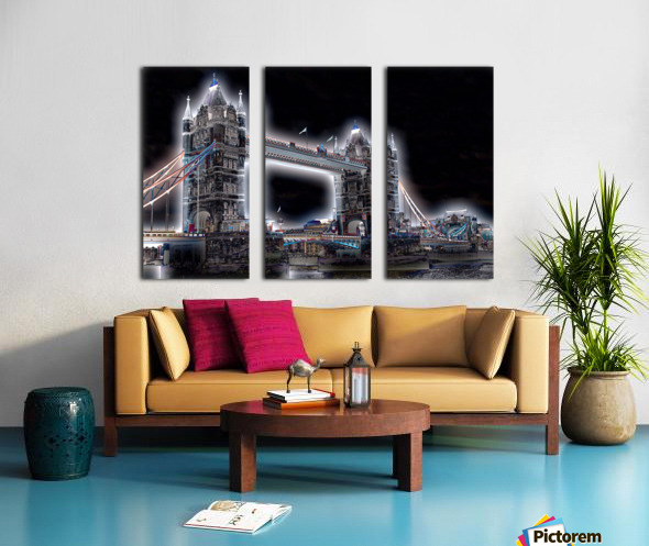 Tower Bridge Split Canvas print