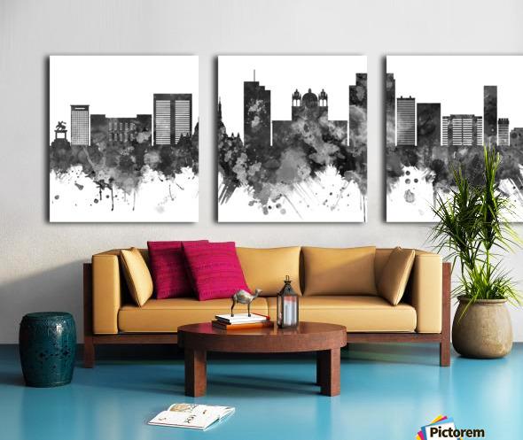 San Salvador Skyline Split Canvas print