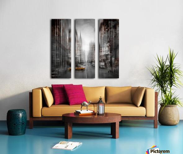 City-Art NYC 5th Avenue Split Canvas print
