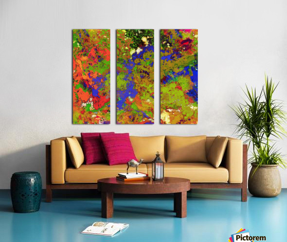 A returning thought Split Canvas print