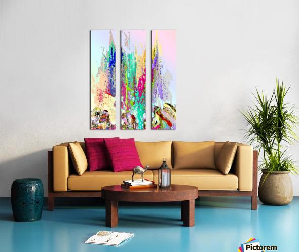 Fillia Split Canvas print