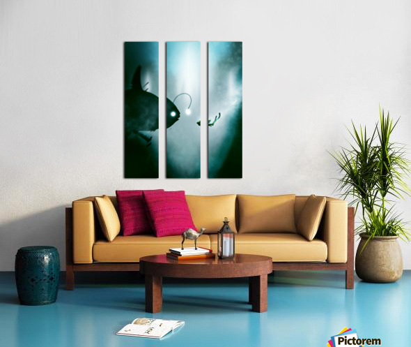 He Seemed So Nice at First Split Canvas print