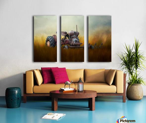 Seasons of the Past Split Canvas print