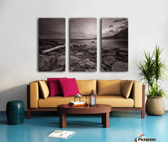 La Bloc Rocks Split Canvas print