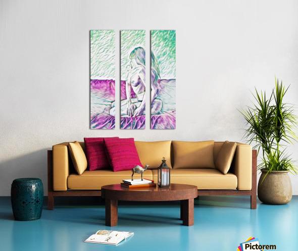 girl Split Canvas print
