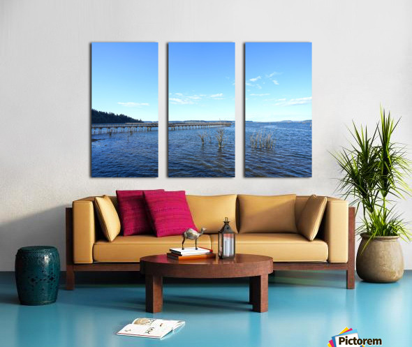 One Day at the Estuary 2 of 4 Split Canvas print