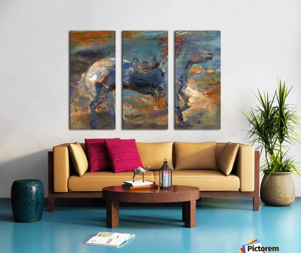 Ghost Rider - Titian Split Canvas print