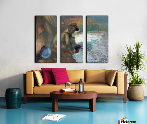 Make your own luck Split Canvas print