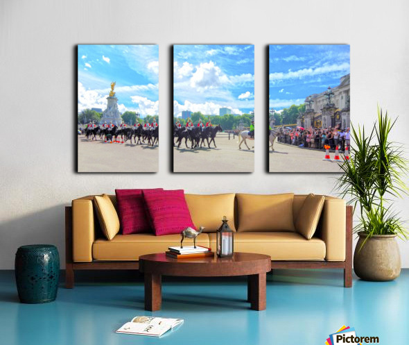 Changing of the Guard London United Kingdom Split Canvas print
