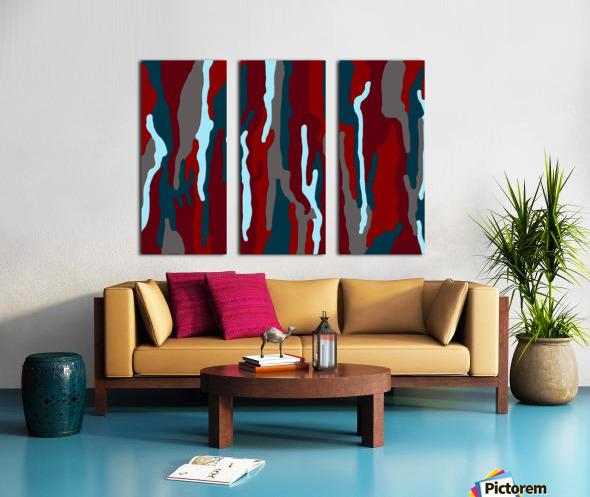 Bloodrain Split Canvas print