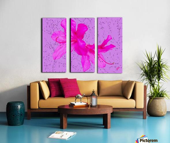 Think Pink Split Canvas print