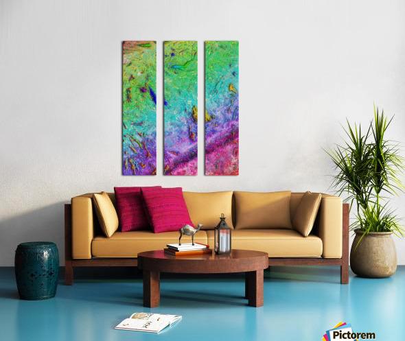 Saribo Split Canvas print