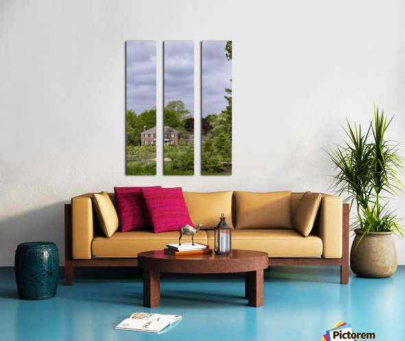 House in the Woods Split Canvas print