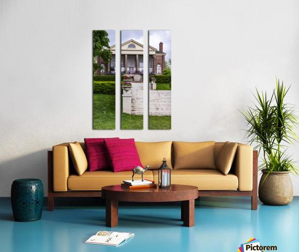 Celebrate Split Canvas print