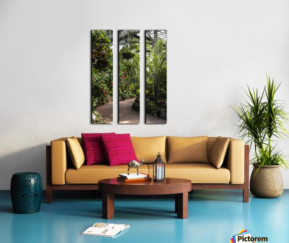 Urban Forests Split Canvas print