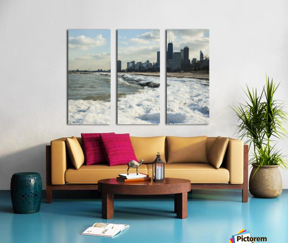Lake Michigan Split Canvas print